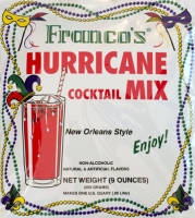 Franco's New Orleans Style Hurricane Cocktail Mix